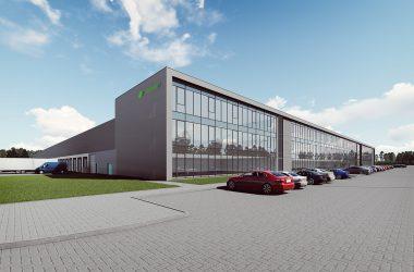 Budowa centrum logistycznego E OBUWIE wNowym Kisielinie
