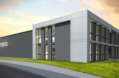 Budowa siedziby firmy Perceptus wZielonej Górze